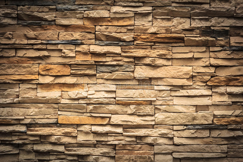 Parede de tijolos de Brown, destaque imagens de stock royalty free