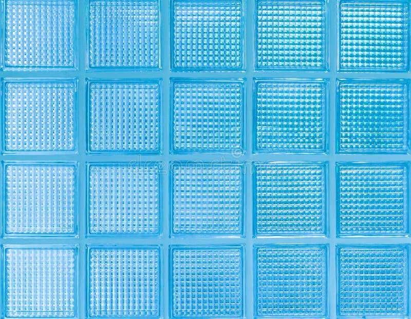Parede de vidro azul imagem de stock royalty free