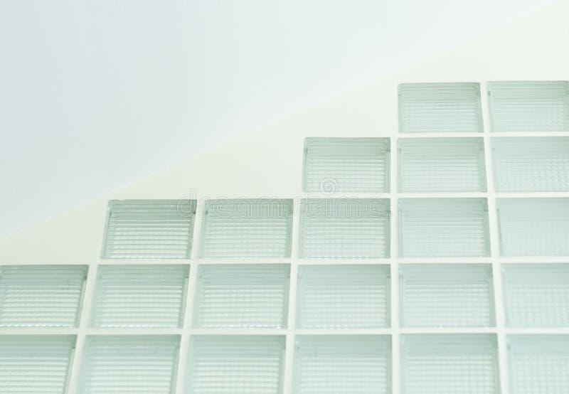 Parede de vidro desobstruída fotografia de stock