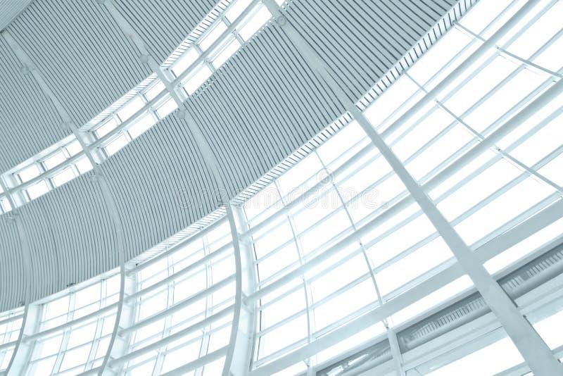 Parede de vidro elevada imagens de stock