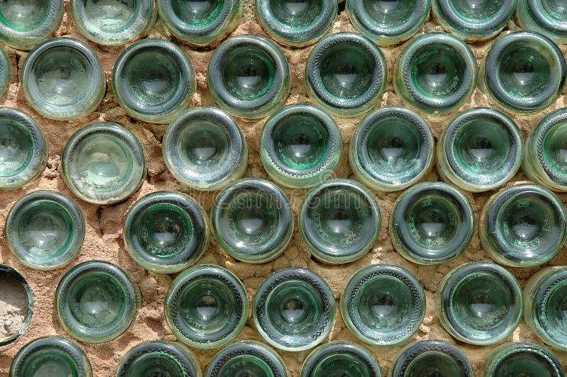 Parede do frasco imagens de stock