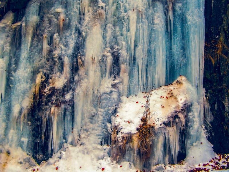 A parede do gelo fotos de stock royalty free