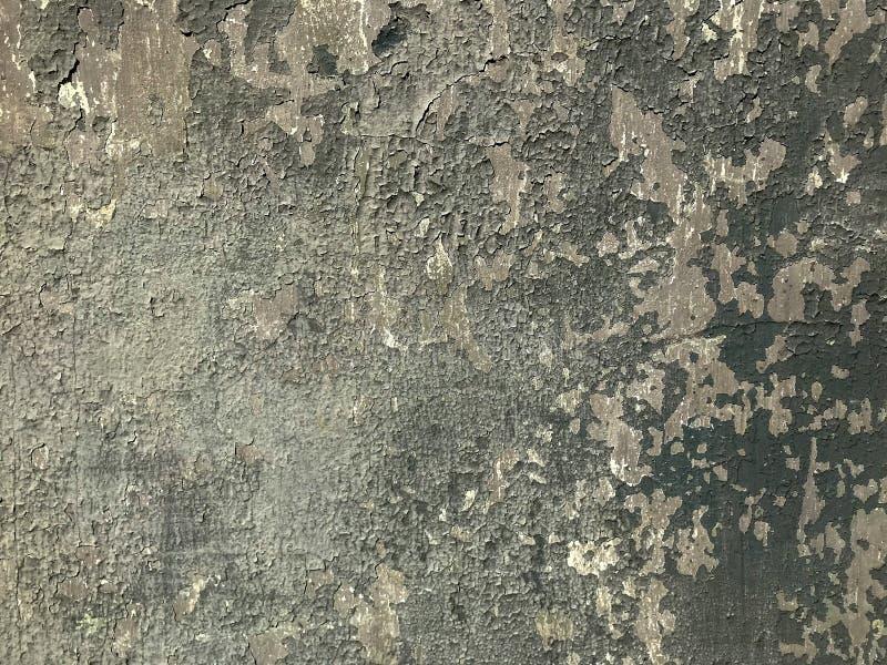 Parede do Grunge pintada da casa velha Fundo Textured foto de stock royalty free