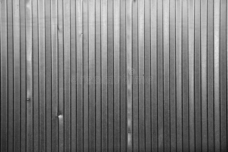Parede do metal com textura imagens de stock