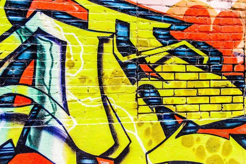 Parede dos grafittis imagens de stock royalty free