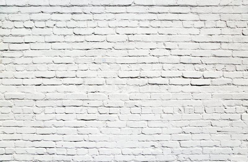 Parede dos tijolos brancos imagem de stock