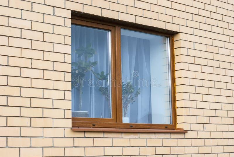 Parede e janela imagens de stock royalty free