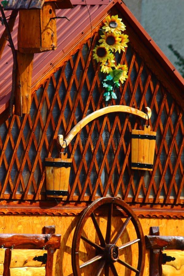 Parede e janela da casa imagens de stock royalty free
