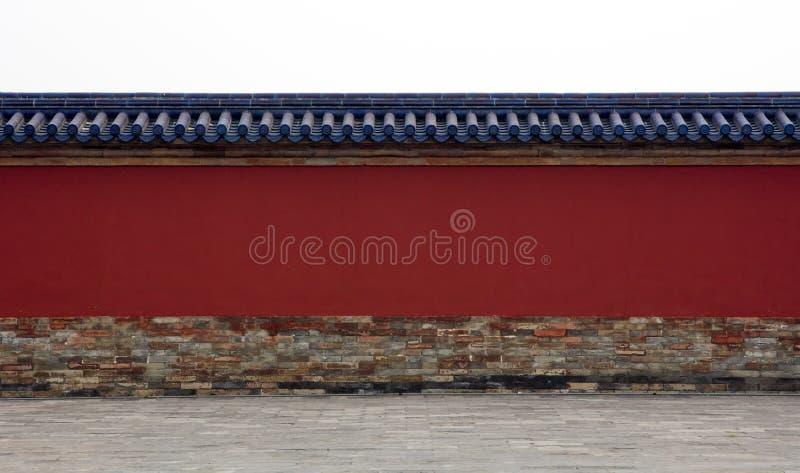 Parede em torno do complexo em China imagem de stock royalty free
