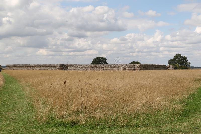 A parede exterior do forte no castelo do Burgh fotos de stock