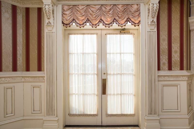 Parede interior formal imagens de stock royalty free