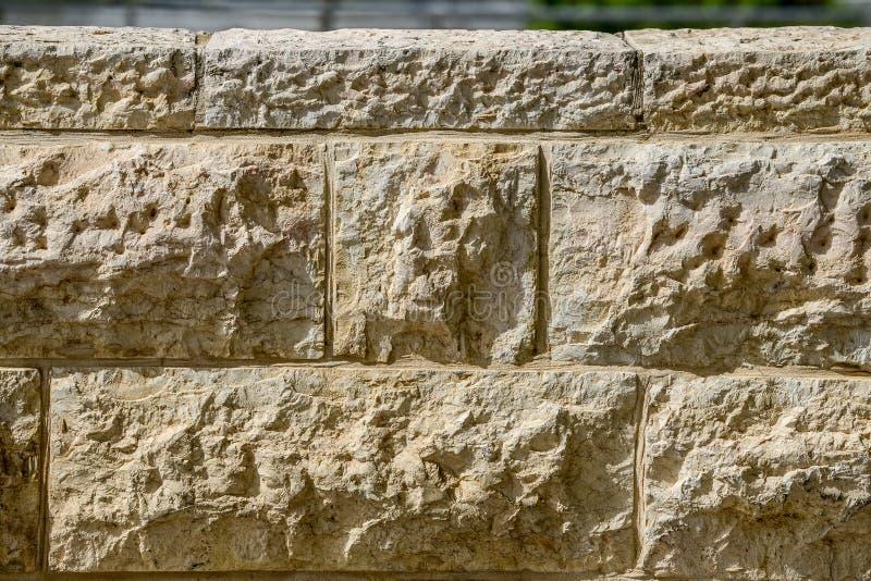 Parede lamentando em Jerusalem fotos de stock