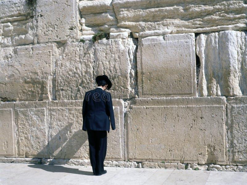Parede lamentando, Jerusalem imagem de stock royalty free