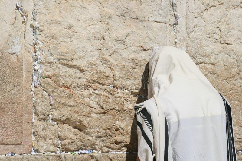 A parede lamentando, Jerusalem foto de stock royalty free
