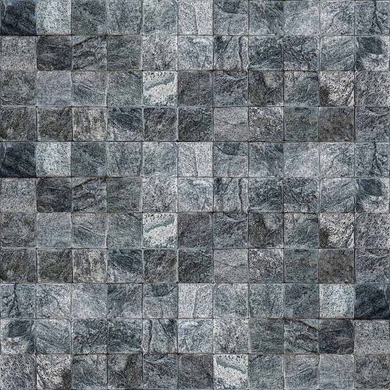 Parede moderna do azulejo e da parede de pedra para o bacground ilustração royalty free