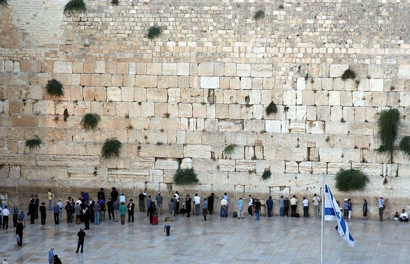 A parede ocidental imagens de stock