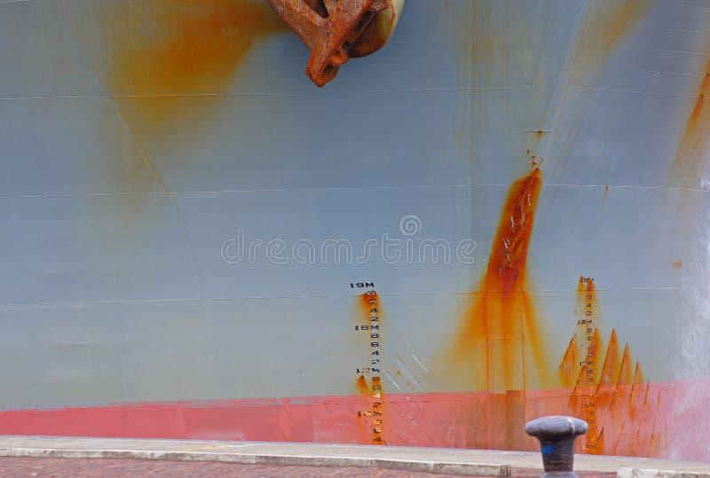 Download Parede Oxidada Da Embarcação Foto de Stock - Imagem de medidor, manchas: 29848708