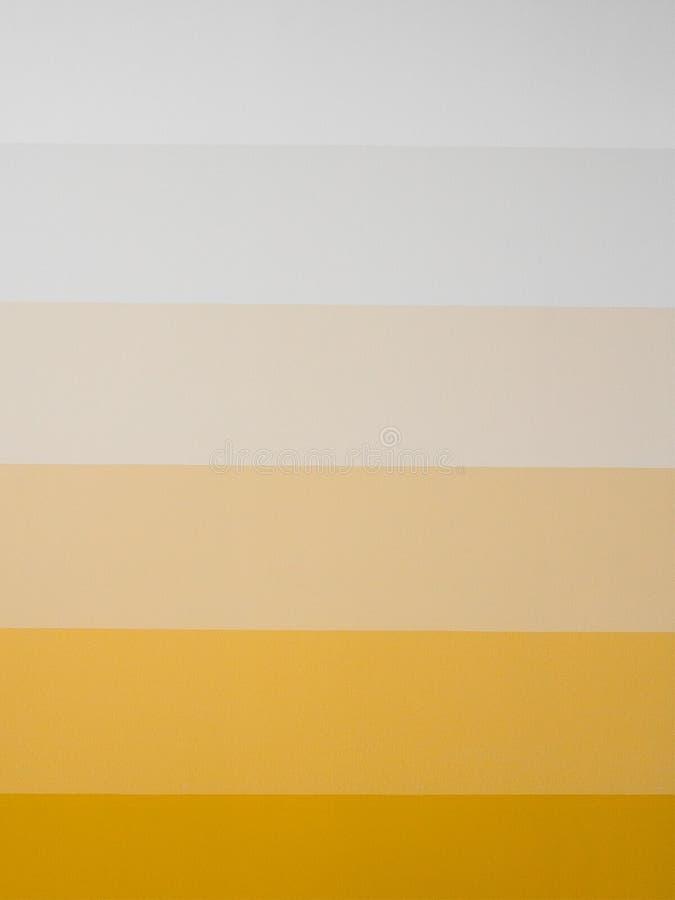Parede pintada amarelo imagem de stock