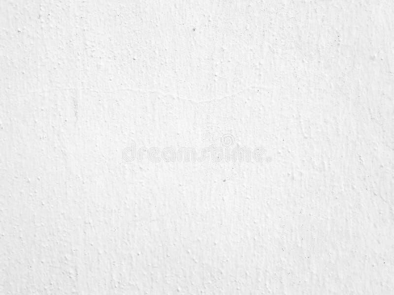 Parede pintada branca, fundo áspero da textura imagem de stock royalty free