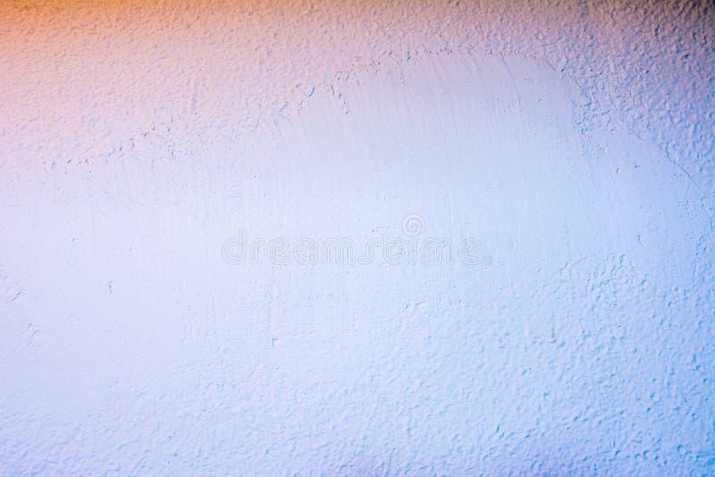 Parede pintada na textura branca Textura sem emenda de um muro de cimento branco imagens de stock royalty free