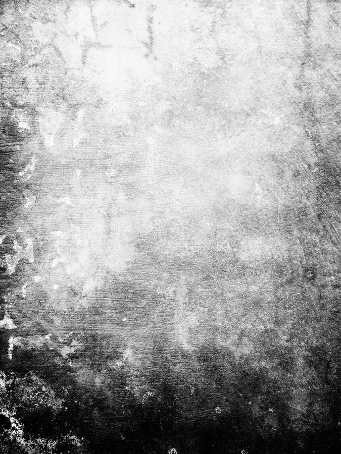 Parede preta de Grunge ilustração stock