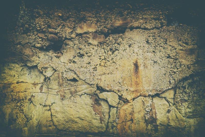 Parede suja antiga retro, grande para o fundo imagens de stock royalty free