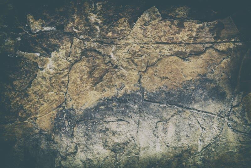 Parede suja antiga retro, grande para o fundo imagens de stock