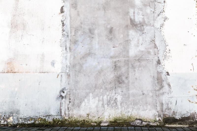 Parede suja velha exterior do grunge do fundo ilustração stock