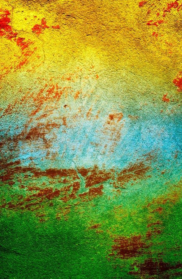 Parede velha colorida como o fundo. fotografia de stock royalty free