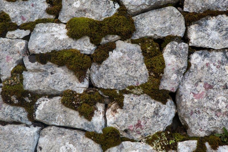 Parede velha de pedra do castelo imagem de stock royalty free