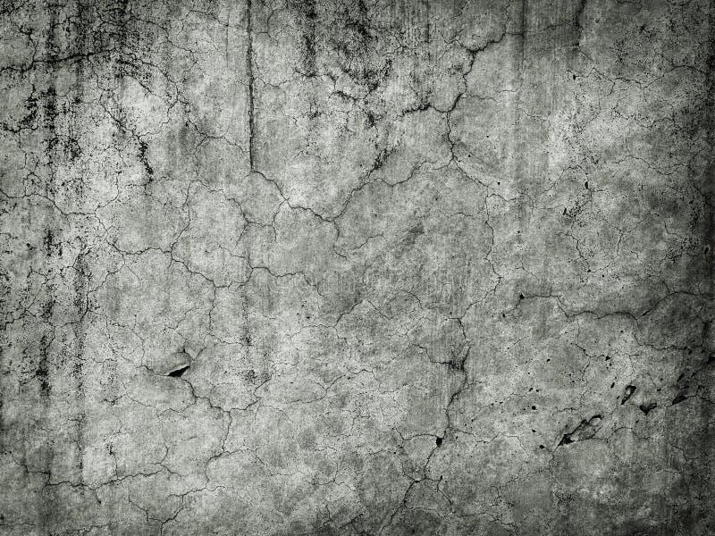 Parede velha suja com rachaduras foto de stock