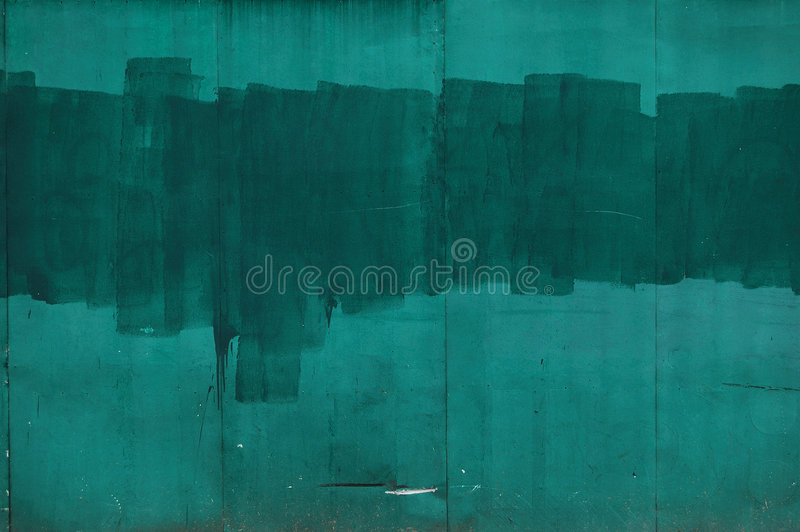 Parede verde foto de stock royalty free