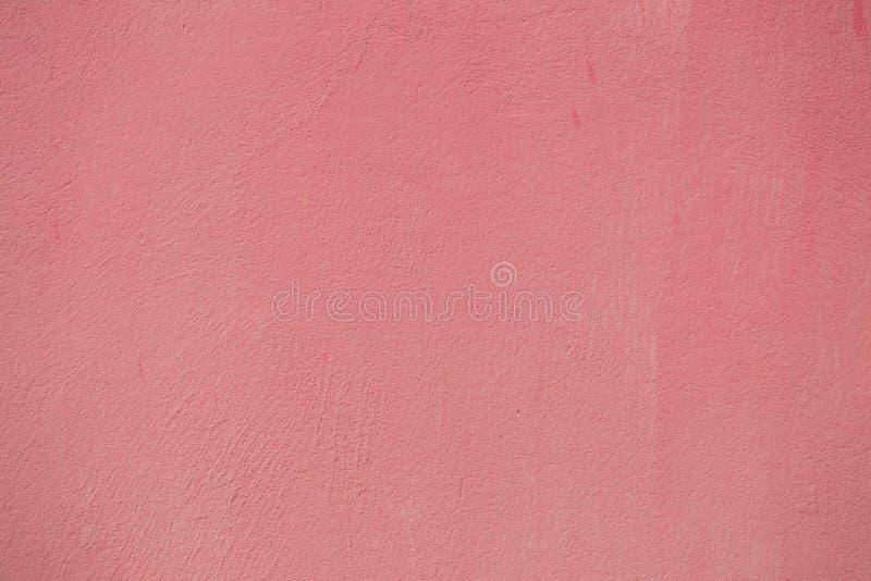 Parede vermelha da cor pastel fotos de stock