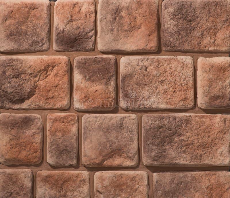 Paredes de alvenaria da pedra e do tijolo fotografia de stock royalty free