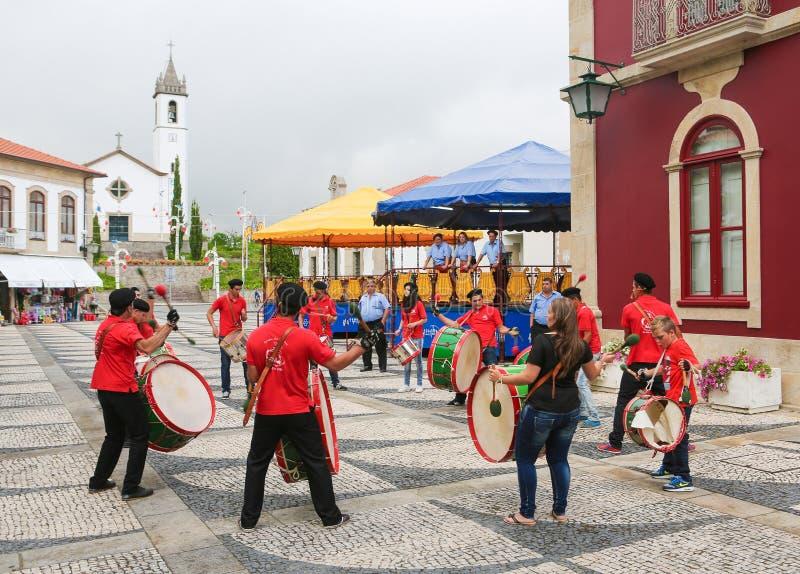 Paredes de Coura nella regione di Norte, Portogallo fotografia stock