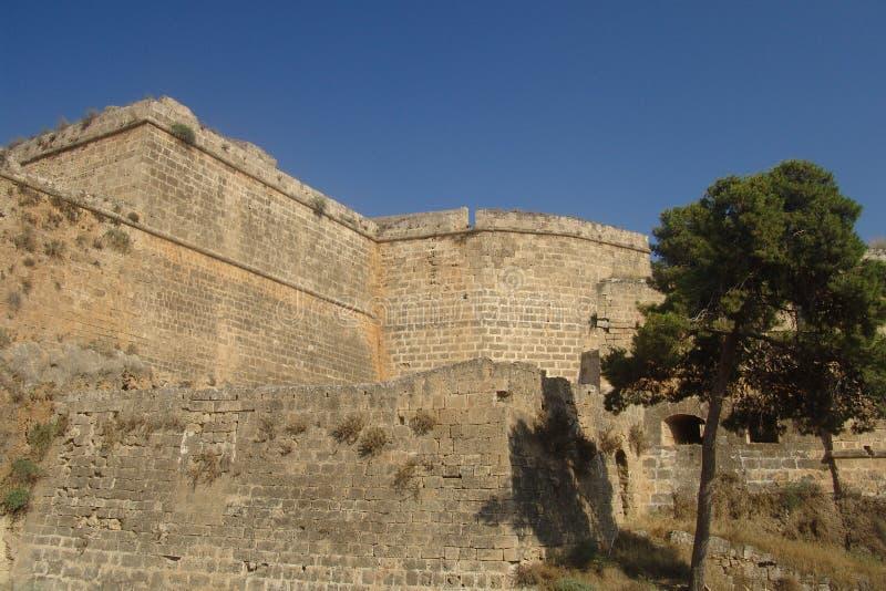 Paredes de Famagusta fotos de stock royalty free
