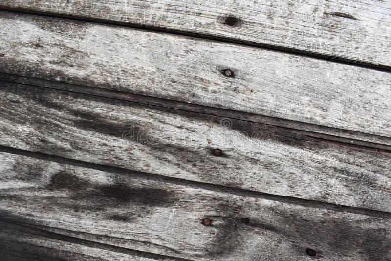 Paredes de madera grises viejas para el uso como contexto foto de archivo