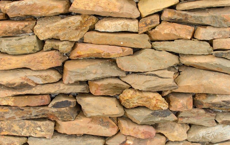 Paredes de piedra enyesadas con el cemento foto de archivo - Cemento decorativo para paredes ...