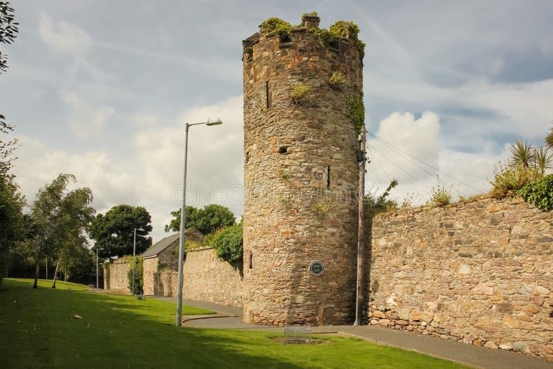 Paredes e torre da cidade Cidade de Wexford Co Wexford ireland fotografia de stock royalty free