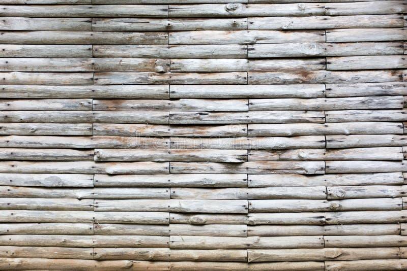 Paredes hechas de la madera ligera, del blanco y del gris imagenes de archivo