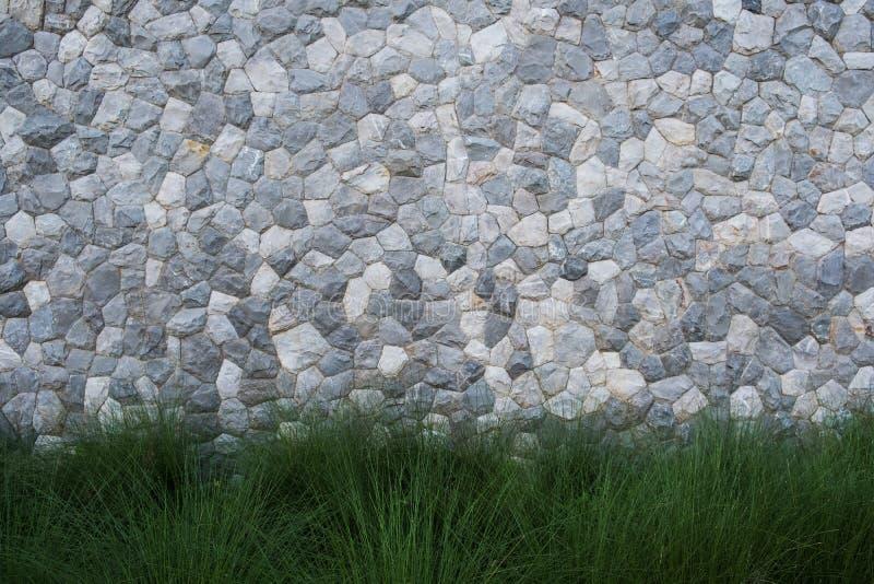 Paredes hechas de piedra gris foto de archivo
