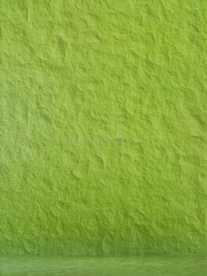 Paredes verdes fotografia de stock