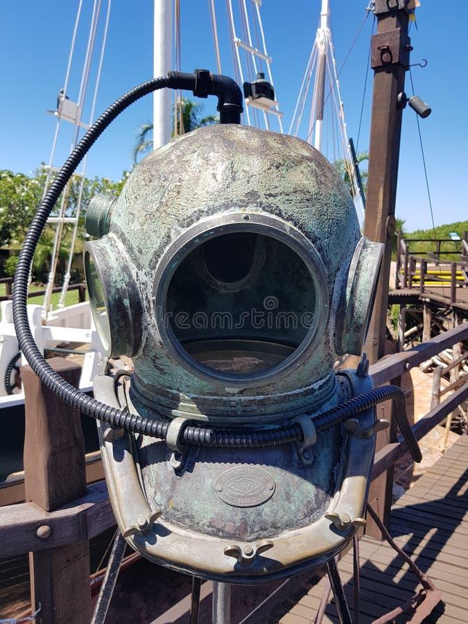 Parel Diverse Helm Broome Westelijk Australië royalty-vrije stock foto