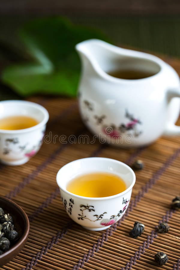 Parel Jasmine Tea stock fotografie