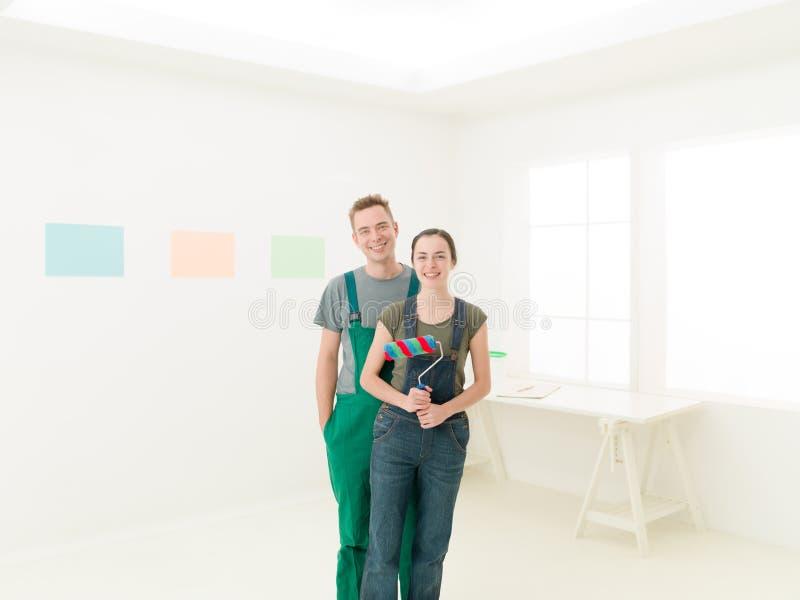 Paren klaar te schilderen stock afbeelding