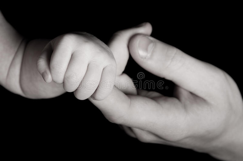 Download Parent and baby hand stock photo. Image of hand, care - 16879594
