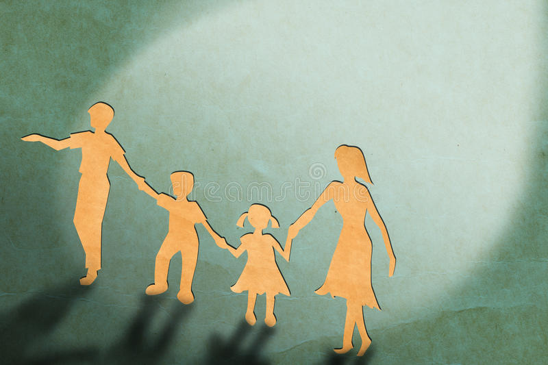 Parent And Children Royalty Free Stock Photo