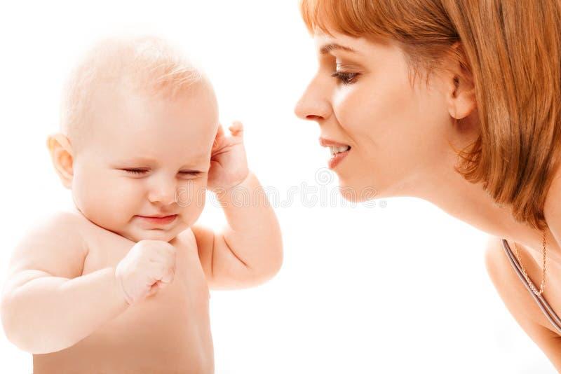 Parent and daughter stock photos