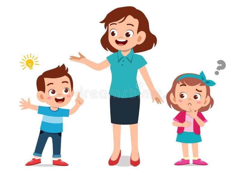 Child Parent Talking Stock Illustrations - 582 Child ...