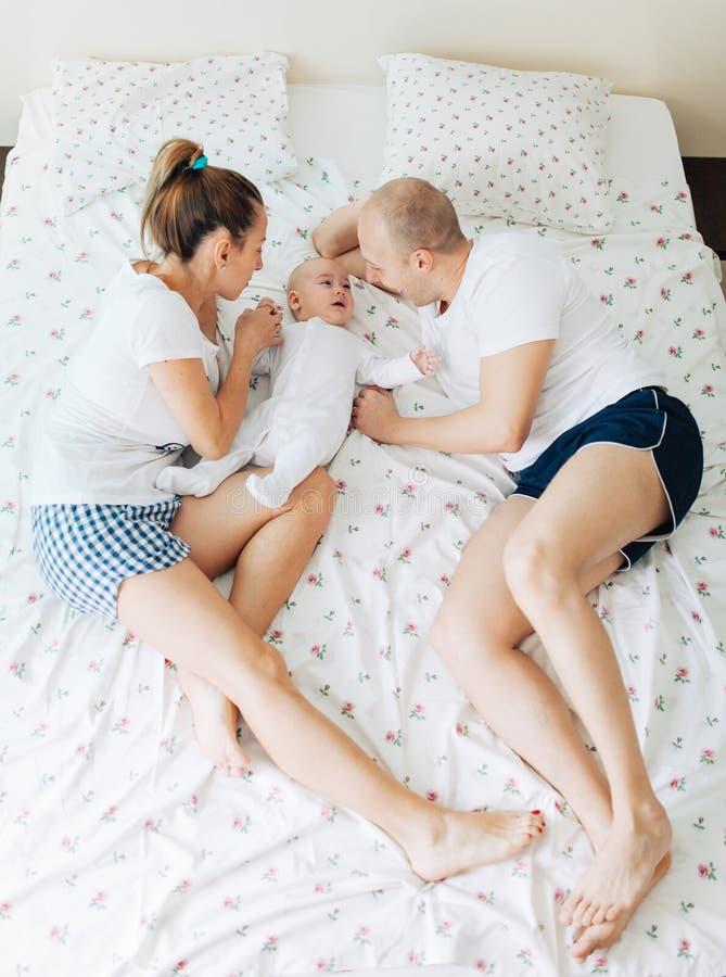 Parent's affection stock photo